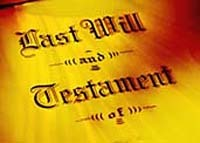 Yellow last will and testament